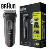 德國百靈 Braun 3000BT 新三鋒系列造型組電鬍刀(黑)
