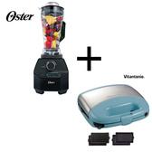【春季整點特賣】限時優惠!美國 OSTER BLSTVB 旗艦級調理機+小V鬆餅機 VWH-33B