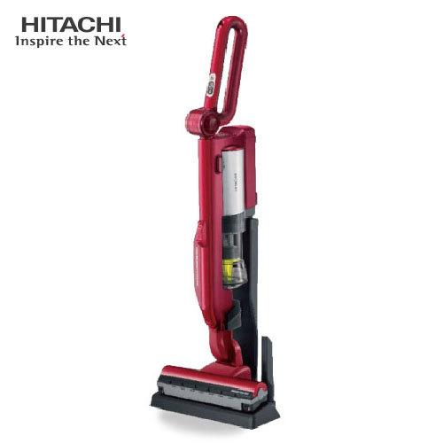 HITACHI 日立 PVSJ500T-R 無線直立手持式吸塵器 免紙袋 炫麗紅