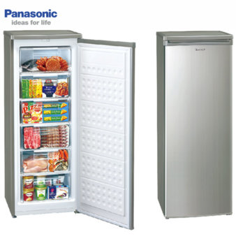 Panasonic 國際 NR-FZ188-S 175L 直立式冷凍櫃不鏽鋼色