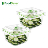 Foodsaver 真空密鮮盒 中 真空機配件/耗材 1.2L 2入 真空保鮮機 可微波 可冷藏冷凍
