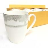 【春季整點特賣】限時優惠!古典骨瓷茶杯 精緻紋路、立體浮雕觸感 6入一組