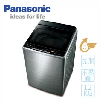 Panasonic 國際 NA-V120EBS-S 12公斤變頻洗衣機 不鏽鋼