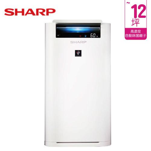 SHARP 夏普 KC-JH50T-W 12坪 自動除菌離子空氣清淨機 日本製造