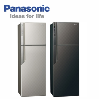 Panasonic 國際 NR-B489GV 雙門變頻冰箱 485L ECONAVI系列
