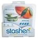 美國 Stasher 方形矽膠密封袋 雲霧白