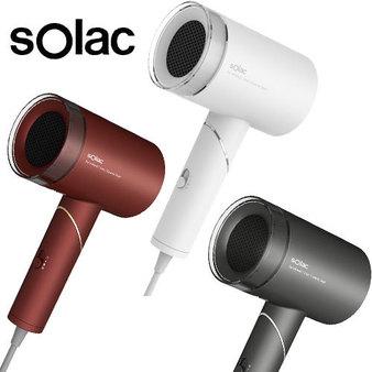 sOlac 負離子生物陶瓷吹風機 時尚白 HCL-501W