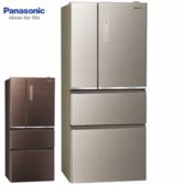 Panasonic 國際牌 NR-D619NHGS-N/T 610L 四門 雙科技無邊框玻璃系列