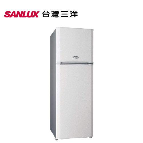 SANLUX 台灣三洋 SR-B310BV 直流變頻冰箱 310L 雙門 能源效率1級 (星鑽銀)