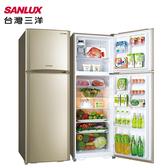SANLUX 台灣三洋 SR-C380BV1 冰箱 380L DC直流變頻 自動循環脫臭