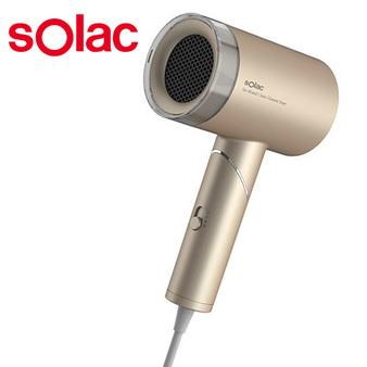 sOlac 負離子生物陶瓷吹風機 香檳金 限定版 HCL-501K