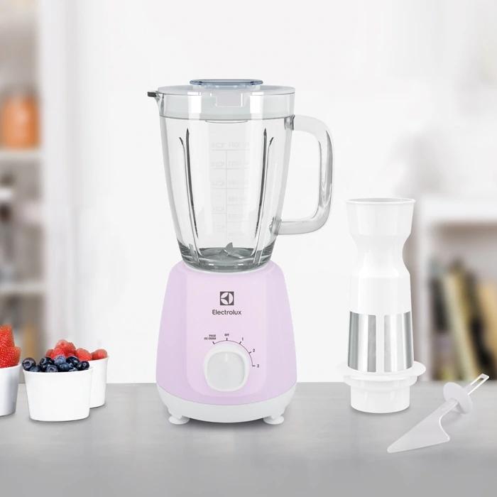 Electrolux 伊萊克斯 EBR3546 果汁機 簡易智能上蓋 多段速調整