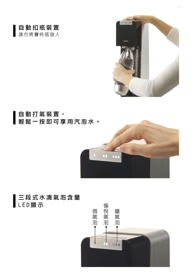 Sodastream Power Source 氣泡水機 電動 旗艦款