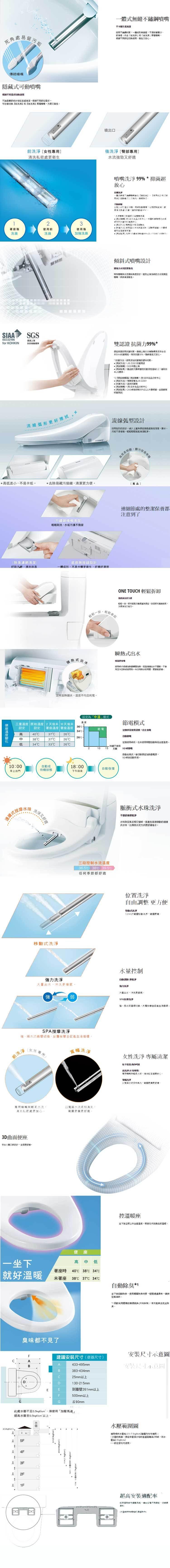 Panasonic 國際 DL-PH20TWS  溫水洗淨便座 完售