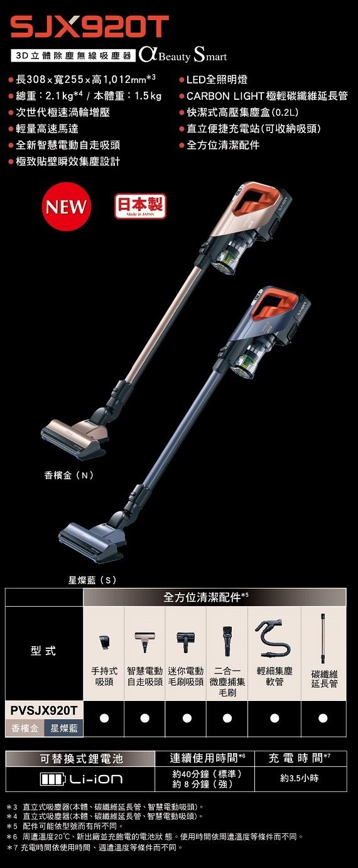 G子的漫畫生活團 - HITACHI 日立無線直立手持吸塵器 PVSJX920T