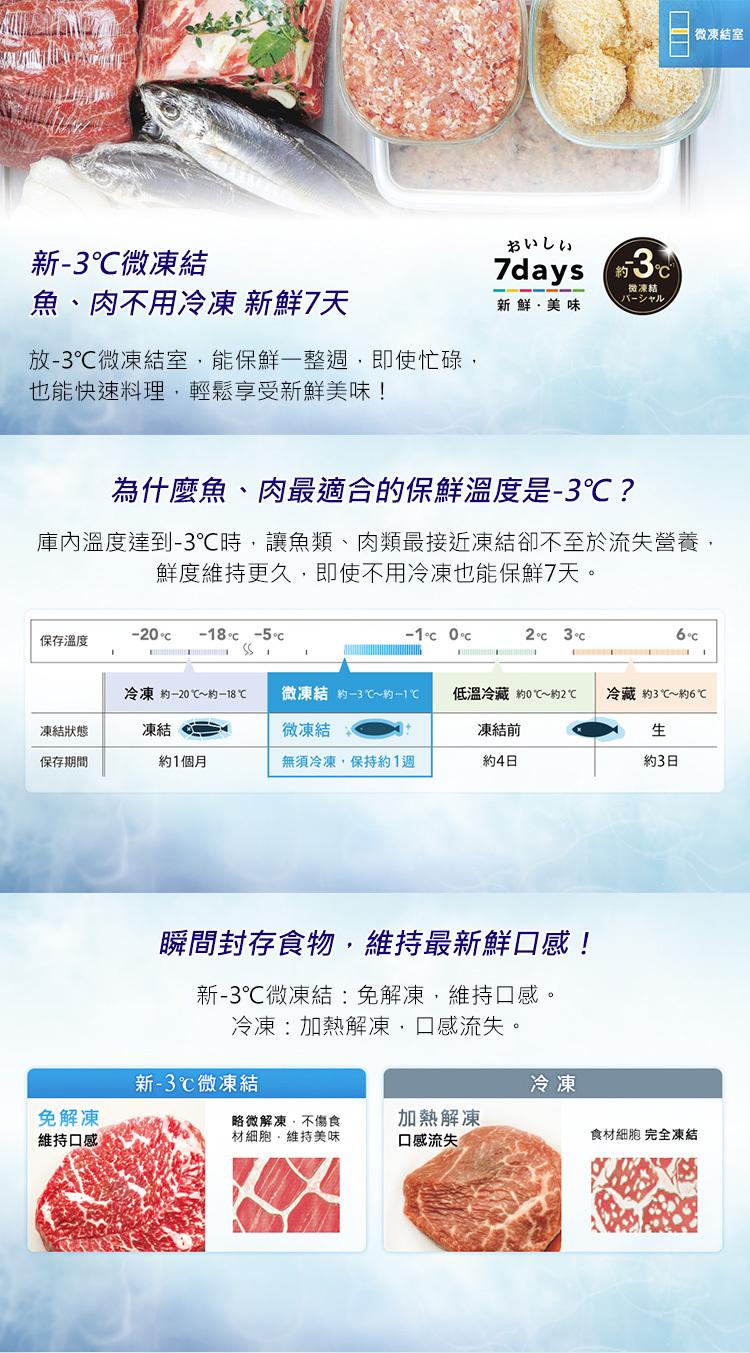 Panasonic 國際 NR-C610NHGS-T 冰箱 610L 三門 翡翠棕 變頻